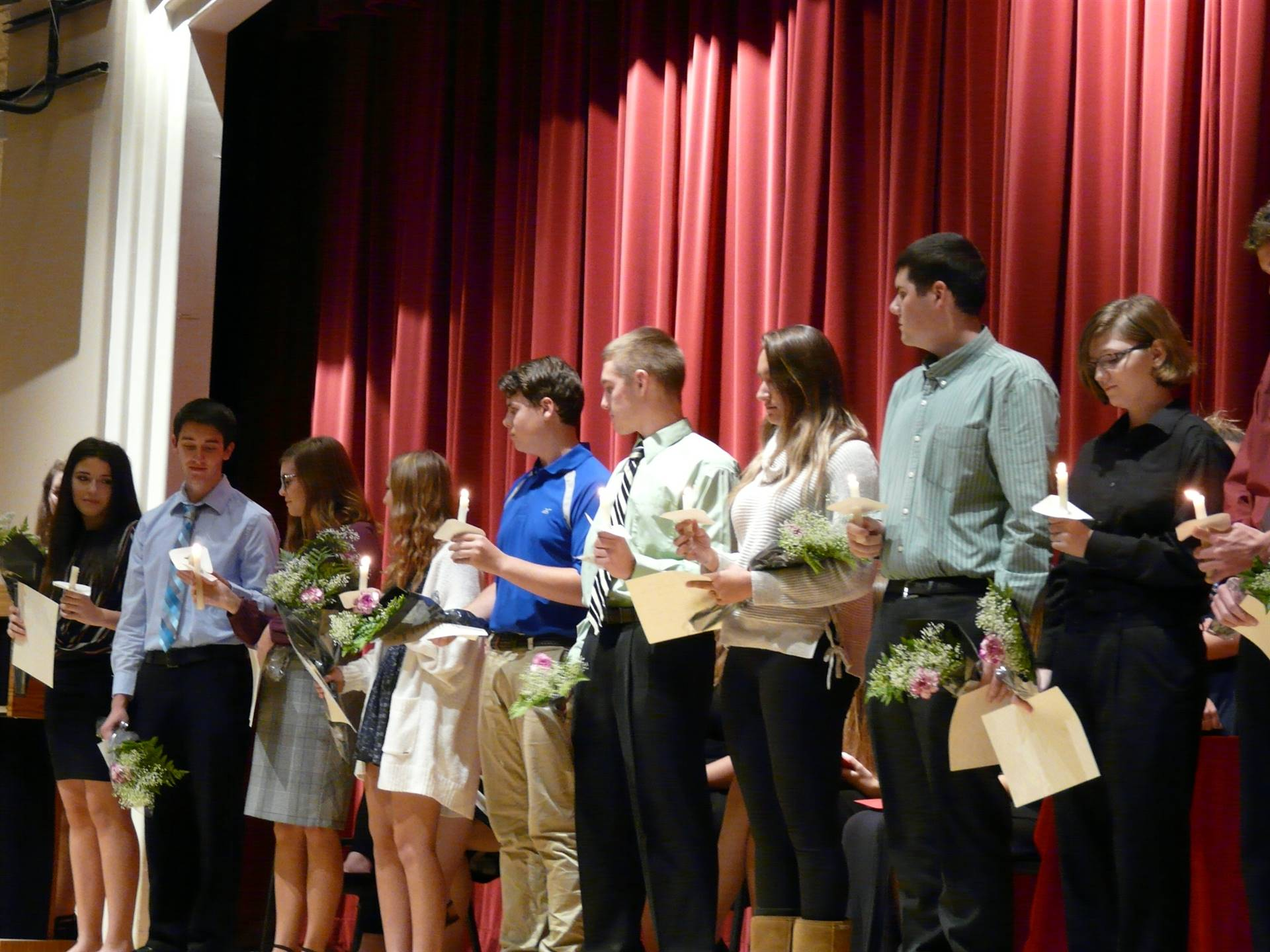 NHS 2018 Induction Ceremony