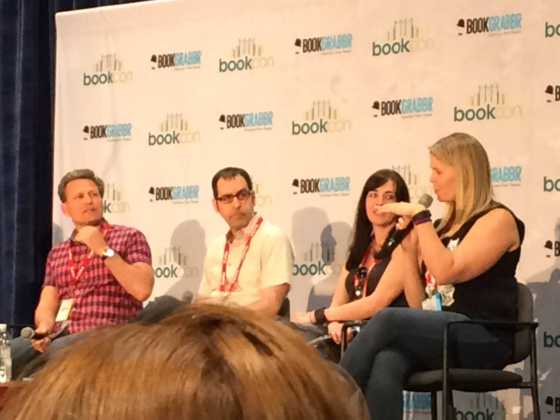Young adult author panel