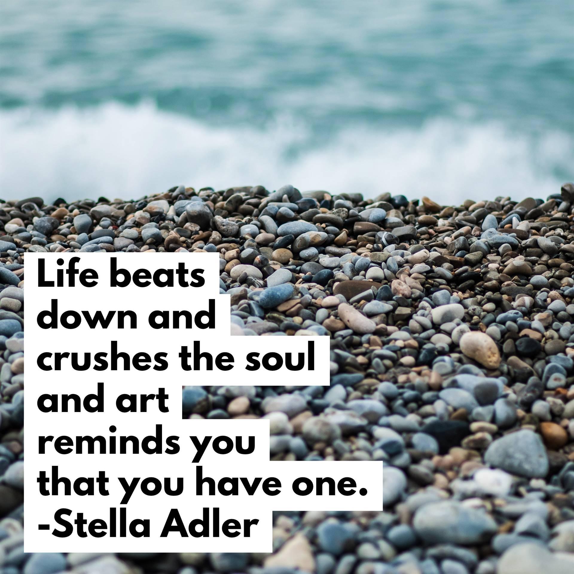 Stella Adler Quote