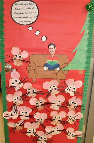 person sitting on couch with lots of little mice around