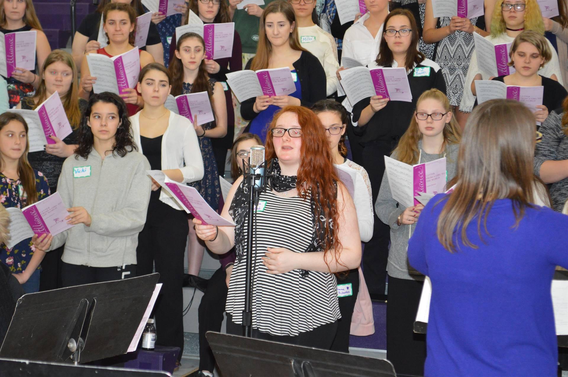 ACAMT Winter 18 SSAA choir Letter From A Girl