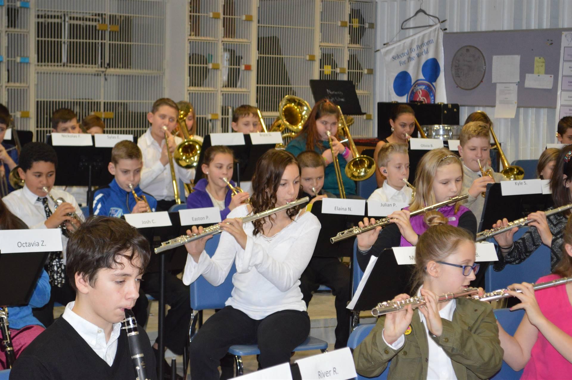 ACAMT 18 Elementary Band flutes