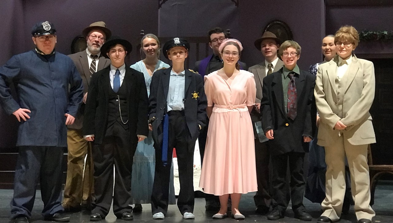 Cast of the play