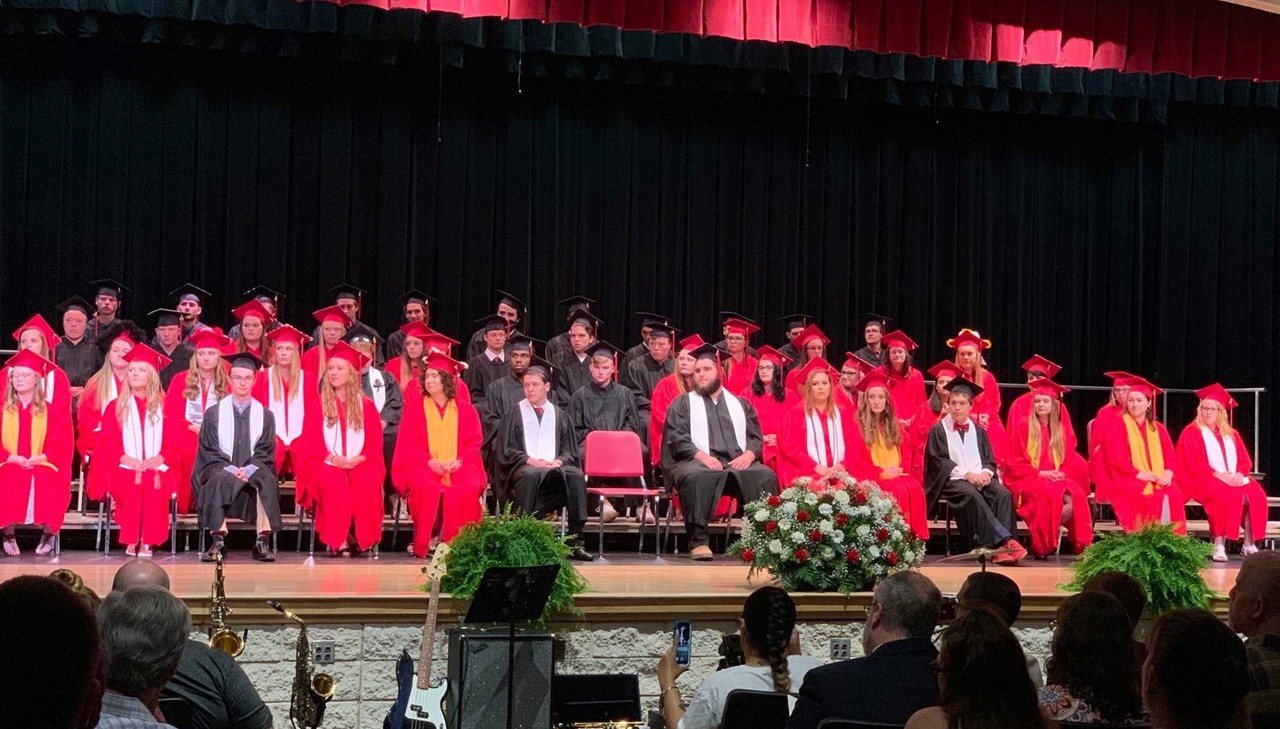 Picture of all students - Graduating Class of 2019