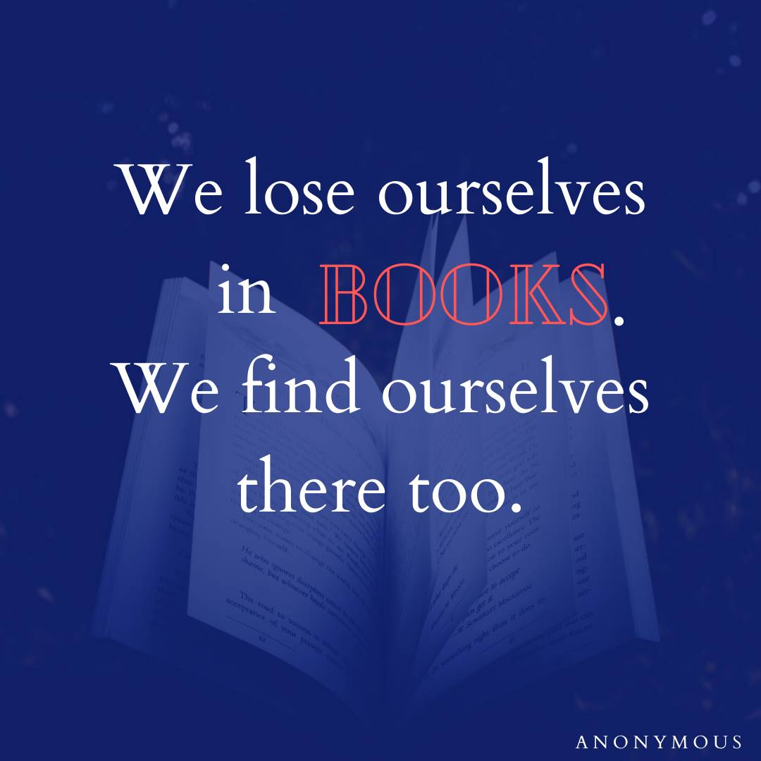 Find ourselves in books