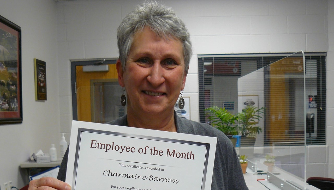 Employee of the month - Barrows