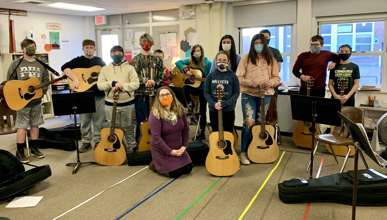 MS music students