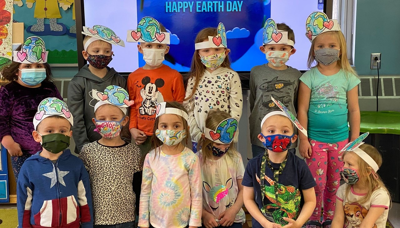 PS students on Happy Earth Day