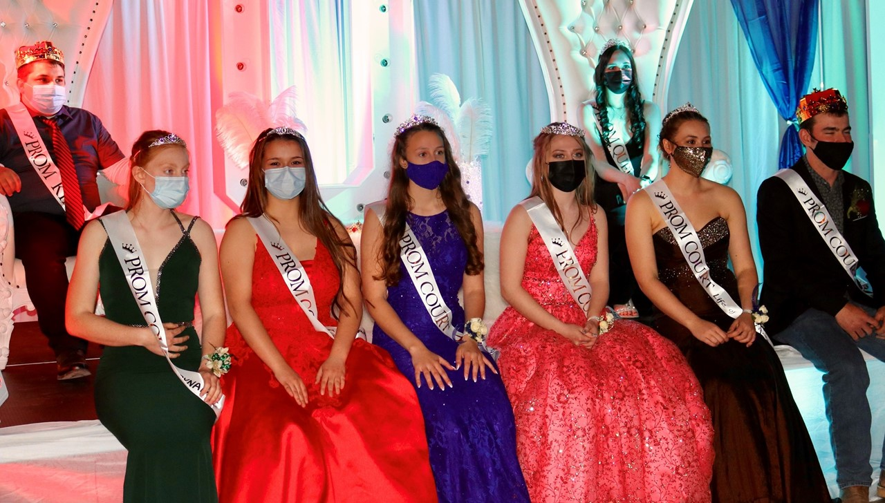 Senior Prom Court May 8, 2021