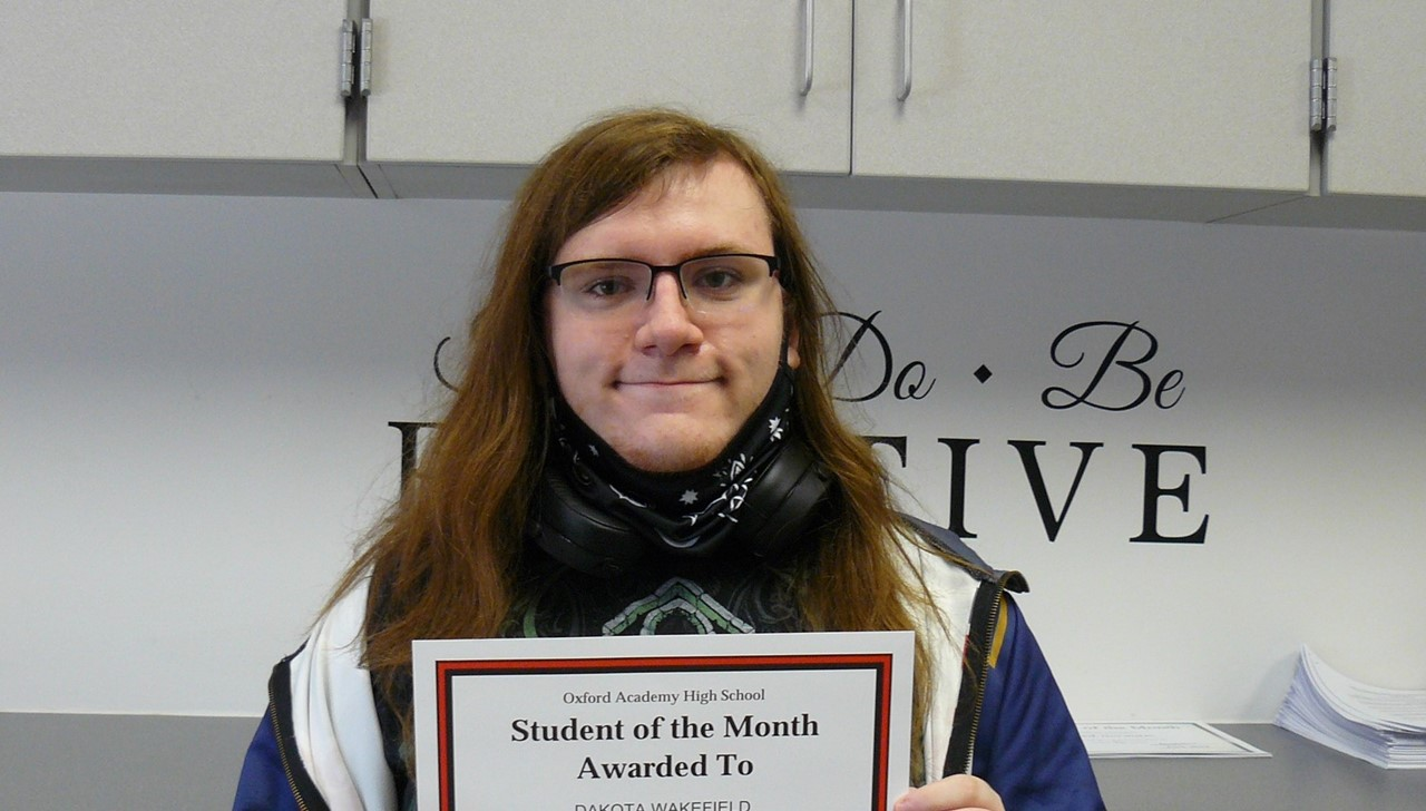 Female student of the month - Wakefield