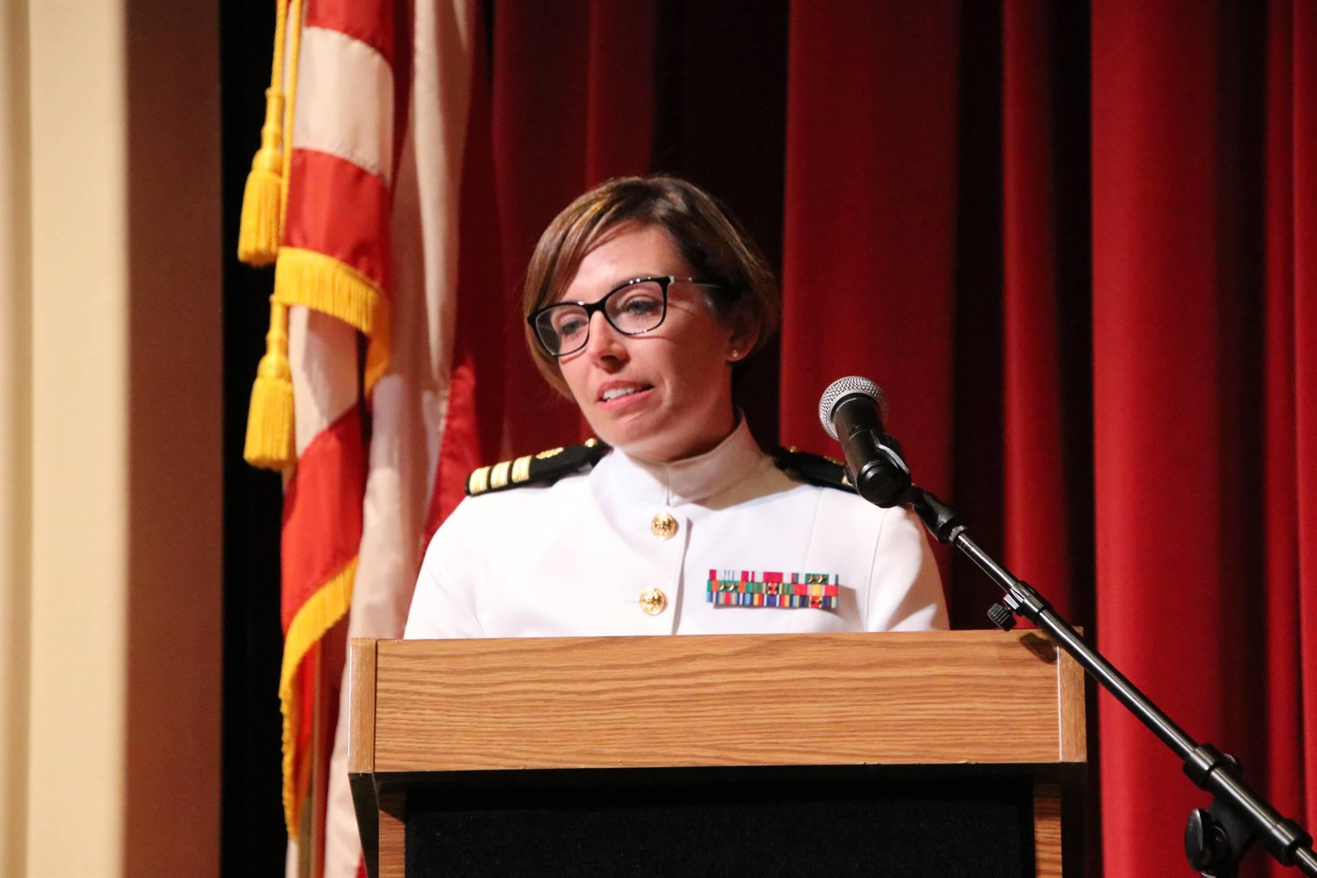 Hall of Distinction honoree - Commander Shattuck