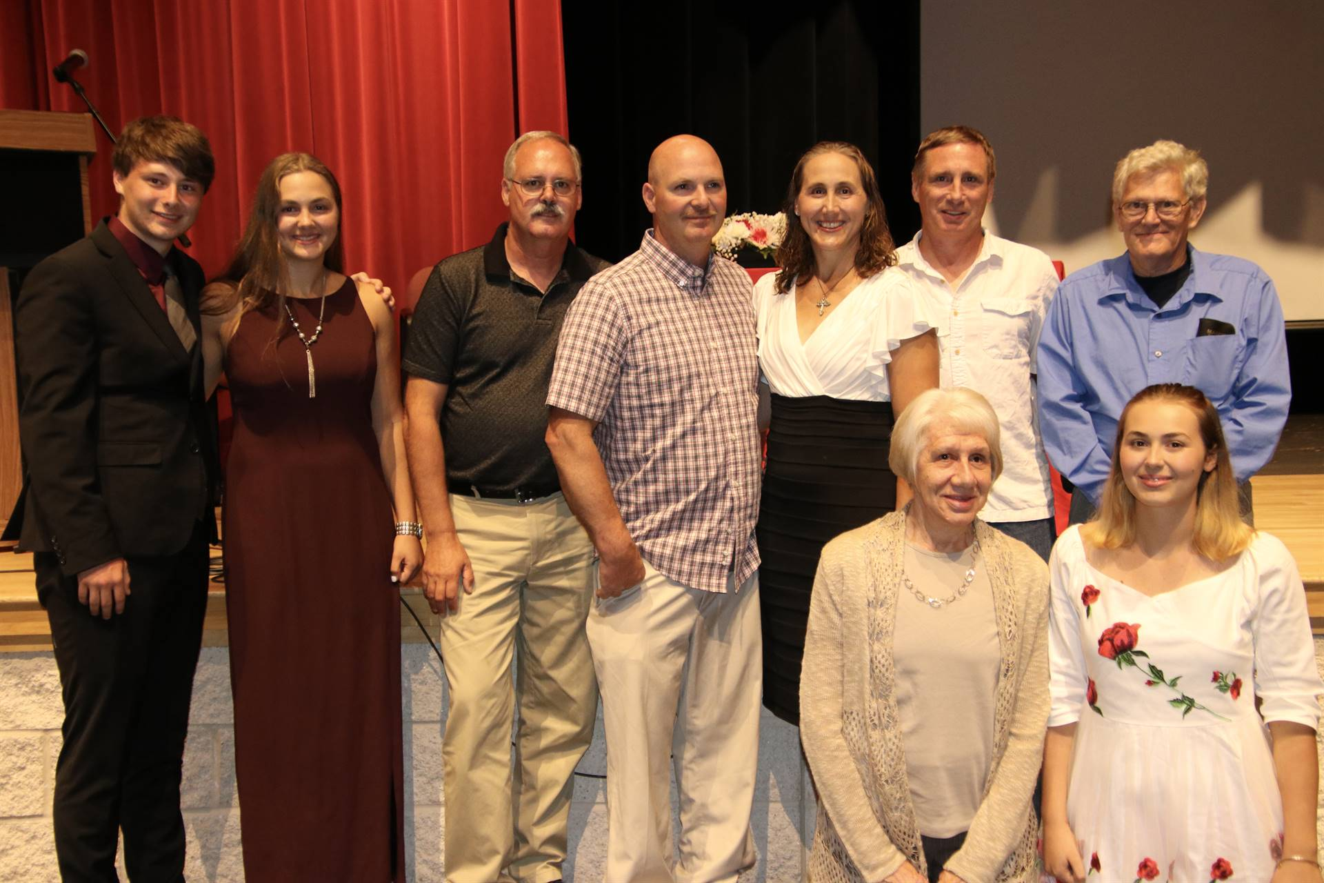 Hall of Distinction honoree family - Barrows