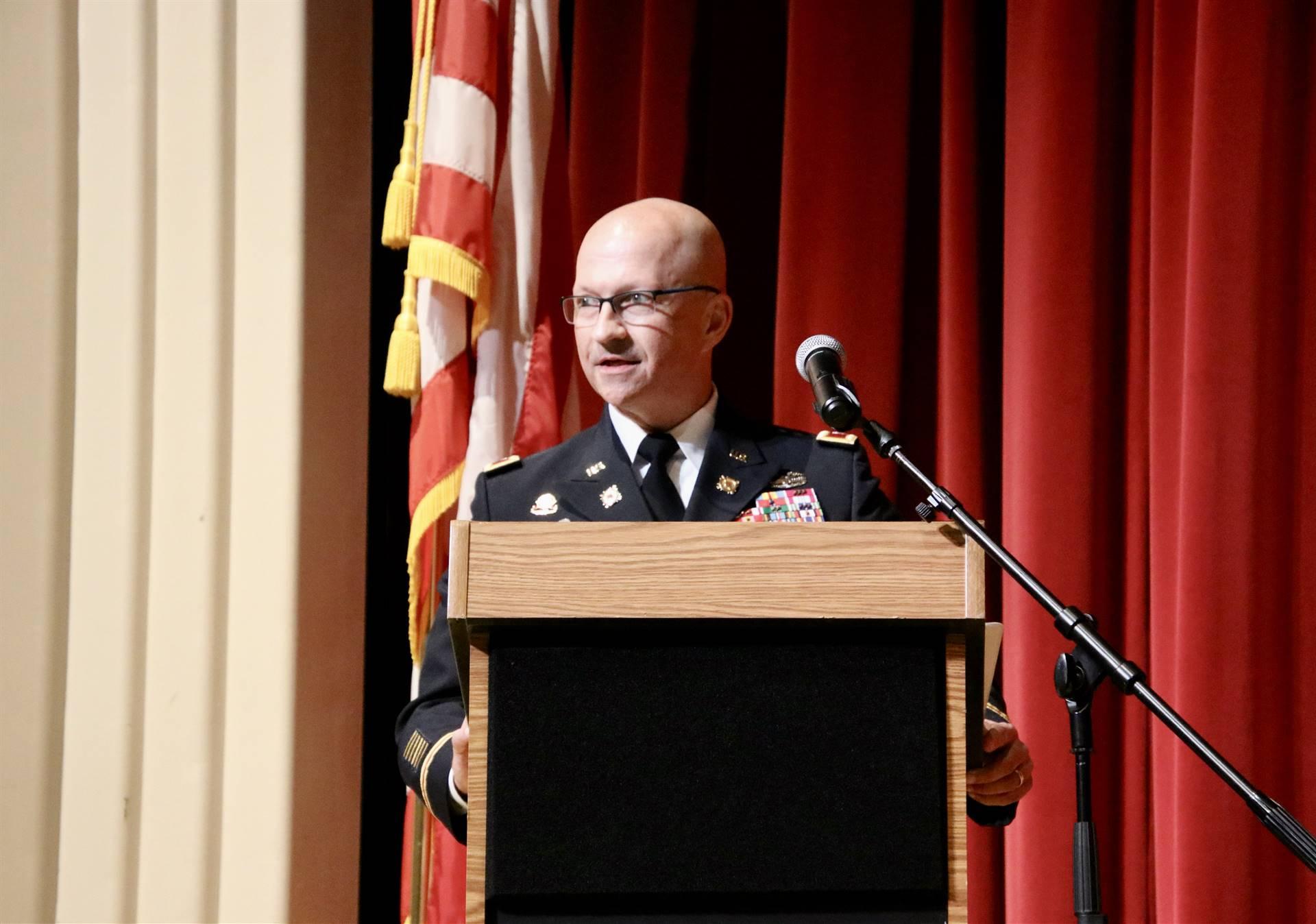 Hall of Distinction honoree - Redding presenting