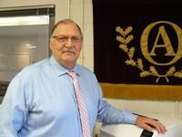 High School Principal D. Gordon Daniels